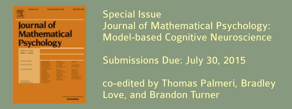 Special Issue on Model-Based Cognitive Neuroscience