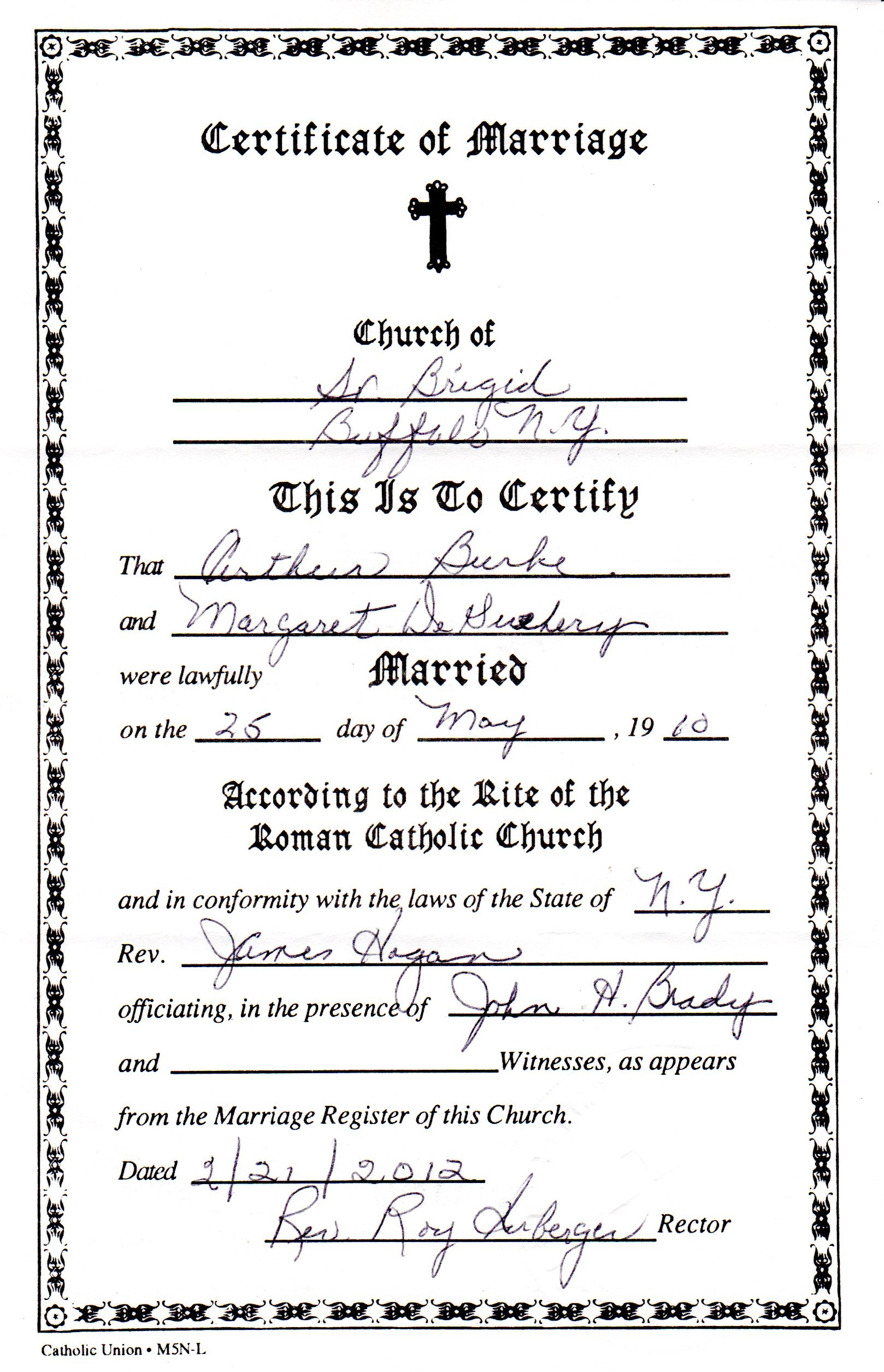 how to fix my marriage certificate