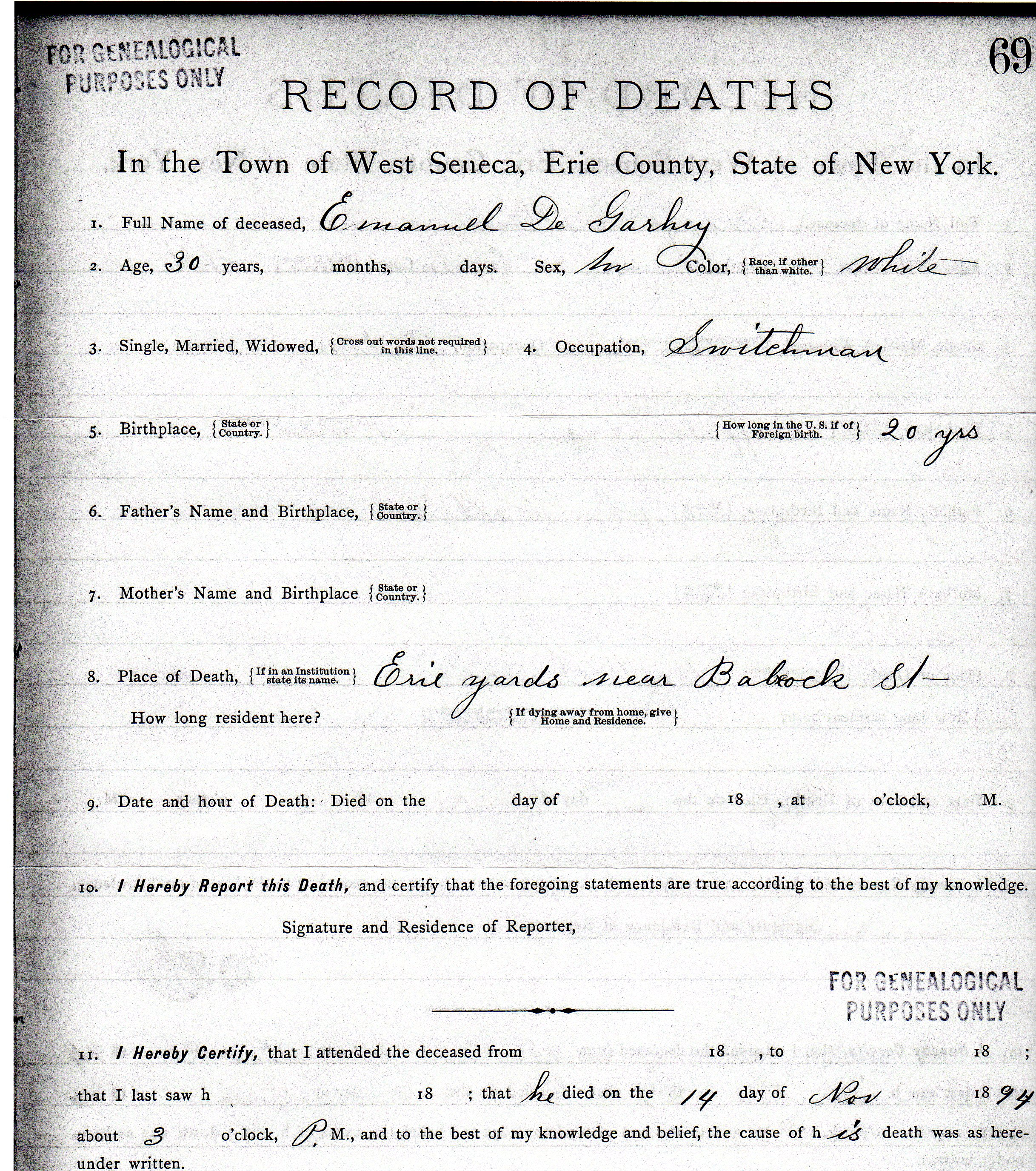 Death certificate genealogy and jure sanguinis consecutive and contributing cause was rr engine 1betcityfo Image collections