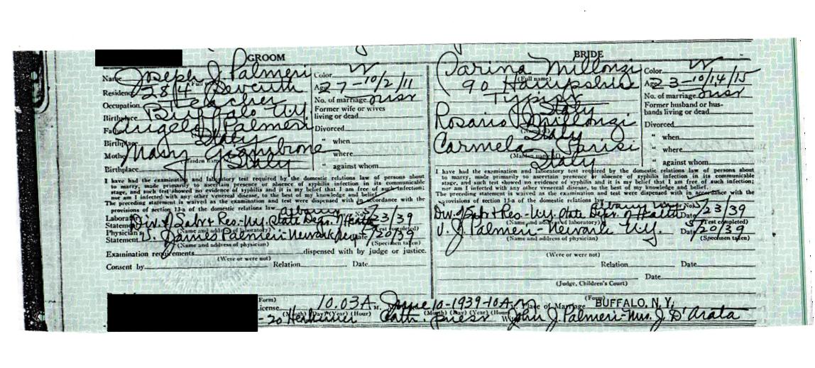 Genealogy and Jure Sanguinis – Page 5 – The Palmeri family genealogy