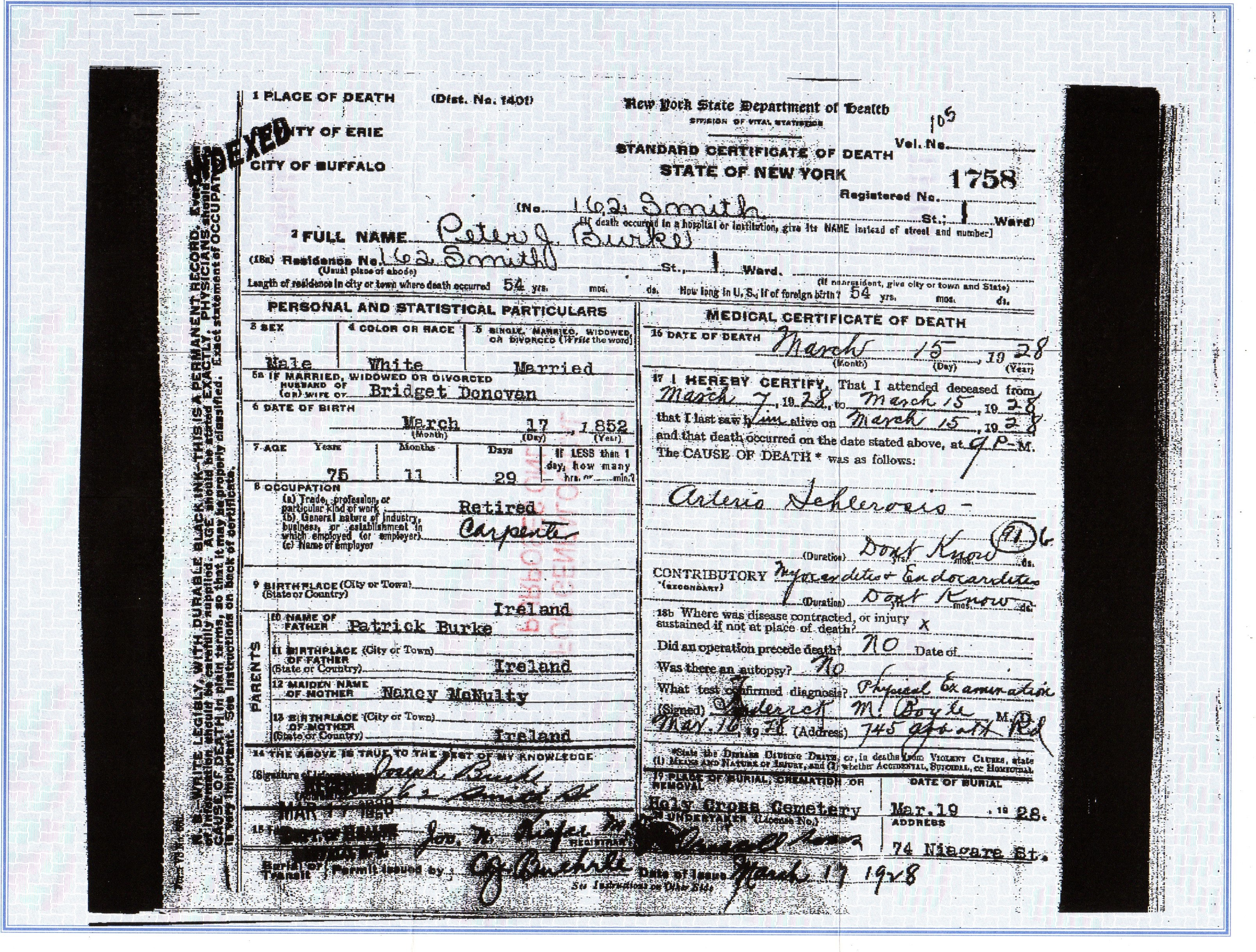 Death certificate genealogy and jure sanguinis it gives his date of birth perhaps someday ill be able to use this to find some irish records i tried a copy of online search tools but none turned up aiddatafo Image collections