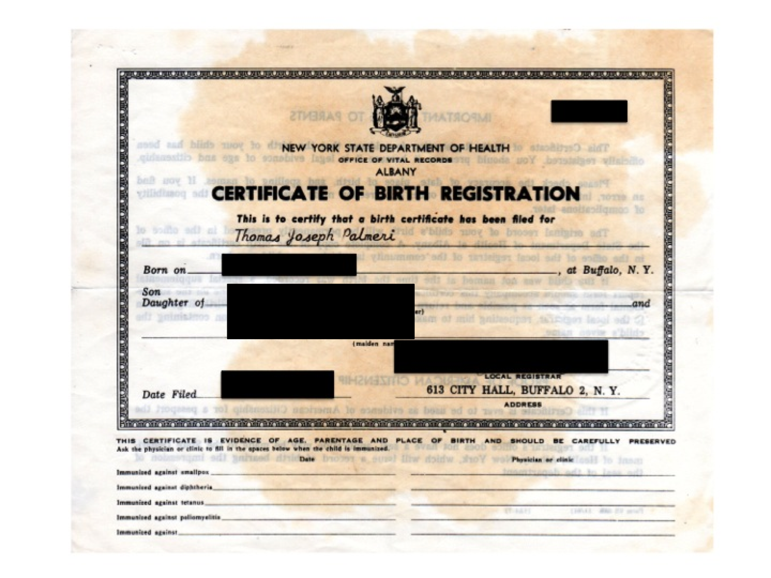 Long Form Birth Certificates Are Needed For Dual Citizenship